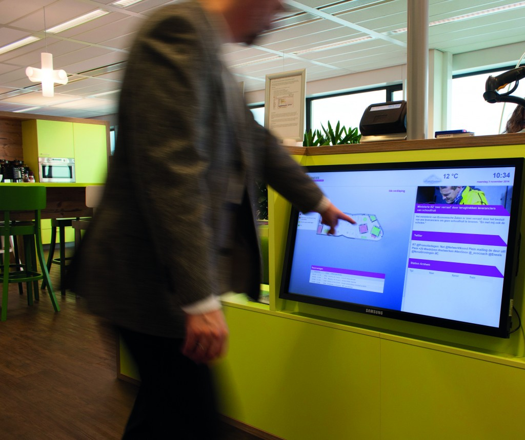 Meeting room finder reservation - Vind en reserveer een vergaderzaal - Smart Signs Solutions
