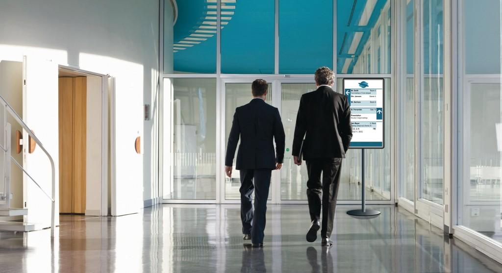 Digitale bewegwijzering bij congressen - Dynamic Wayfinding in conference centers